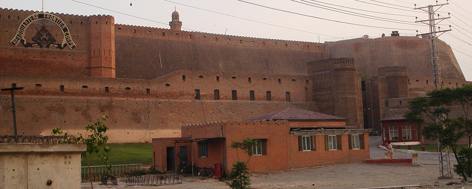 Fort-Of-Bala-Hisar-In-Peshawar-Pakistan