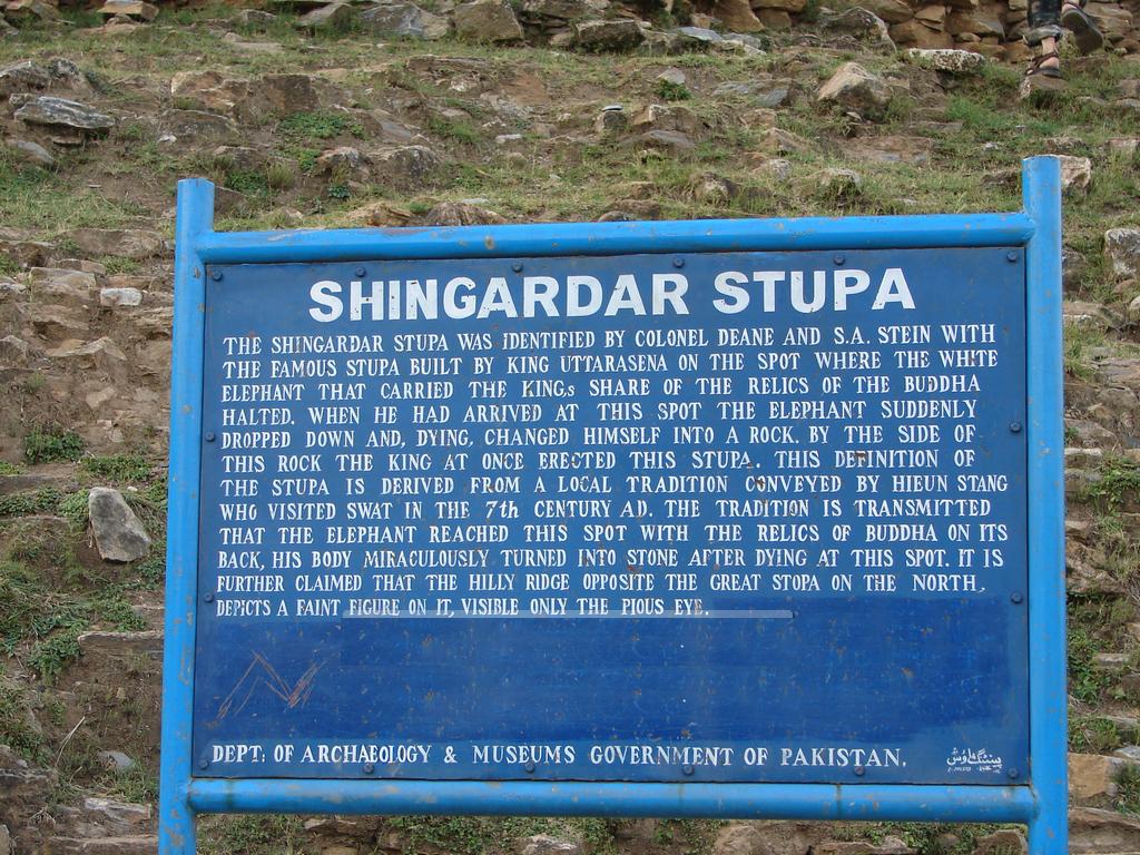 Swat - Shingardar Stupa - 2011 - 01